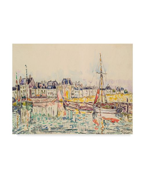 "Trademark Global Paul Signac Le Croisic II Canvas Art - 15"" x 20"""