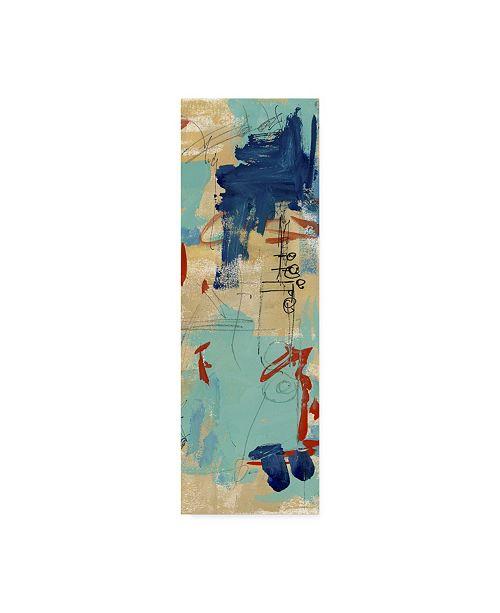 "Trademark Global Melissa Wang Composition Scribbles I Canvas Art - 37"" x 49"""