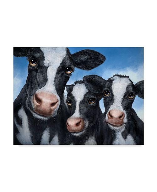 "Trademark Global Patrick Lamontagne Cows Canvas Art - 20"" x 25"""