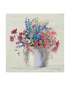 "Carol Rowan Ironstone Bouquet I Bright Canvas Art - 27"" x 33"""