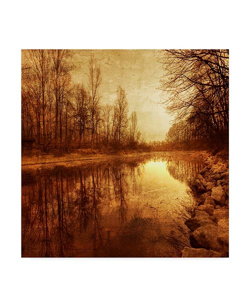 """Trademark Global Philippe Sainte-Laudy Floating Down the River Canvas Art - 15"""" x 20"""""""