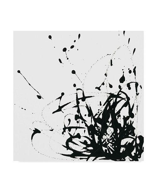 "Trademark Global June Erica Vess Ua Ch Onyx Expression II Canvas Art - 20"" x 25"""