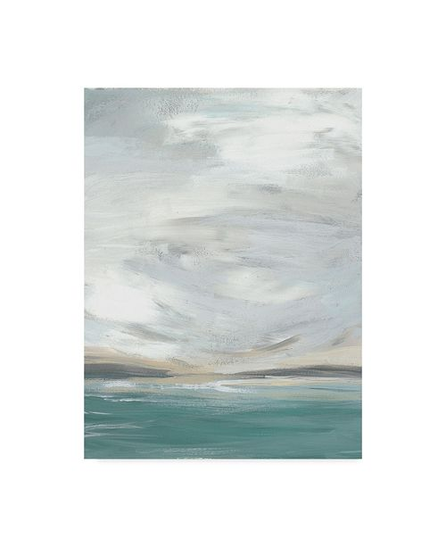"Trademark Global June Erica Vess Seafoam Vista I Canvas Art - 20"" x 25"""