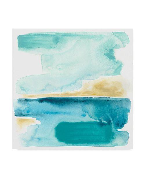 """Trademark Global June Erica Vess Liquid Shoreline III Canvas Art - 15"""" x 20"""""""