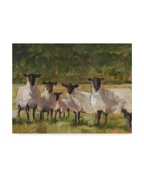 "Trademark Global Ethan Harper Sheep Family II Canvas Art - 20"" x 25"""