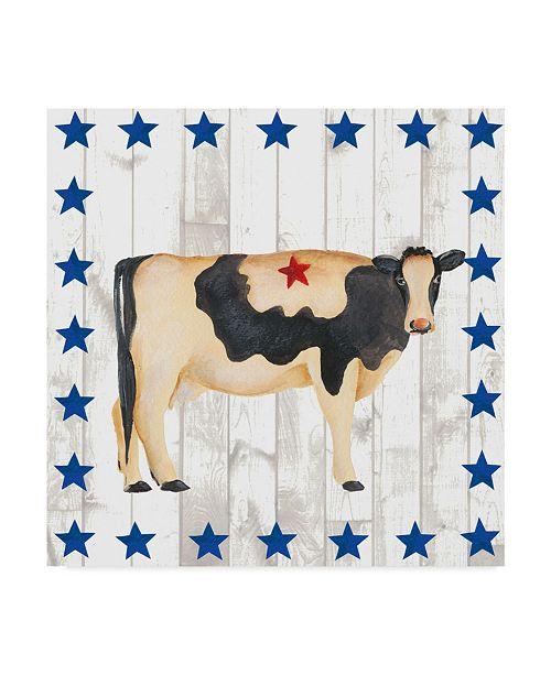 """Trademark Global Regina Moore Americana Animals III Canvas Art - 15"""" x 20"""""""