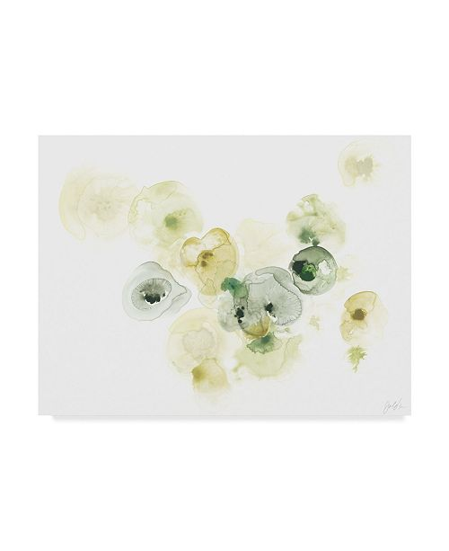 "Trademark Global June Erica Vess Rock Lichen II Canvas Art - 15"" x 20"""