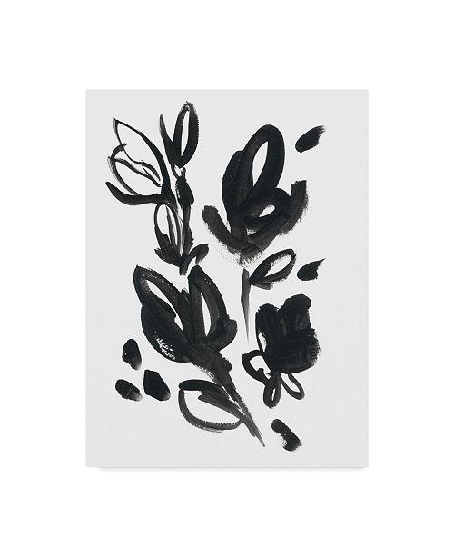 "Trademark Global June Erica Vess Cameo Bloom I Canvas Art - 20"" x 25"""