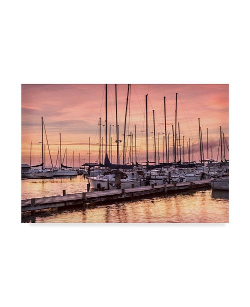 "Trademark Global Danny Head Set to Sail Canvas Art - 20"" x 25"""