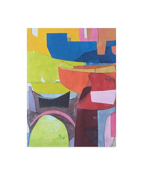 """Trademark Global Rob Delamater Journeymans Papers VI Canvas Art - 37"""" x 49"""""""