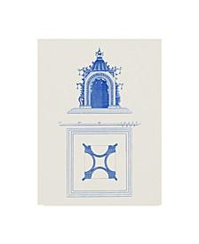 "Vision Studio Pagoda Design IV Canvas Art - 37"" x 49"""