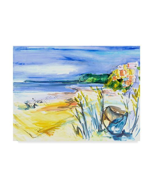 "Trademark Global Erin Mcgee Ferrell Bright Marsh II Canvas Art - 20"" x 25"""