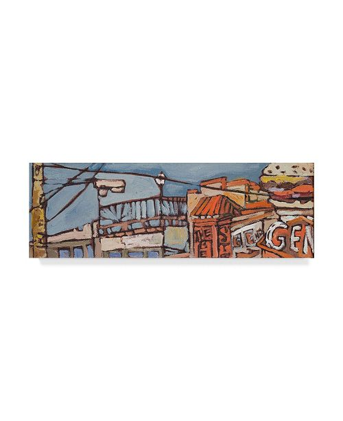 "Trademark Global Erin Mcgee Ferrell Urban Wires V Canvas Art - 20"" x 25"""