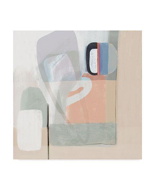 "Trademark Global Victoria Borges Multiform I Canvas Art - 27"" x 33"""