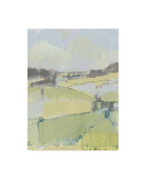 "Trademark Global Jennifer Goldberger Sweet Fields I Canvas Art - 37"" x 49"""