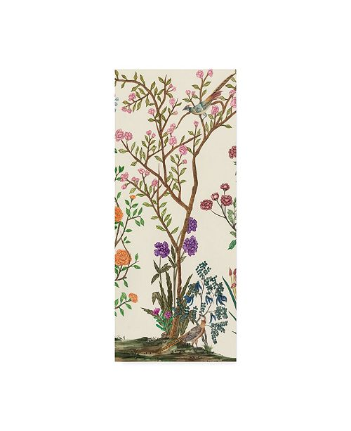 "Trademark Global Melissa Wang Traditional Chinoiserie II Canvas Art - 15"" x 20"""