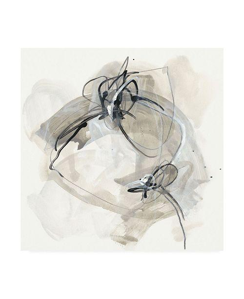 "Trademark Global June Erica Vess Monochrome Diaspora IV Canvas Art - 27"" x 33"""