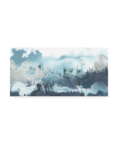 "Trademark Global June Erica Vess Forest Sea I Canvas Art - 20"" x 25"""
