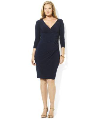 Plus size dresses long sleeve