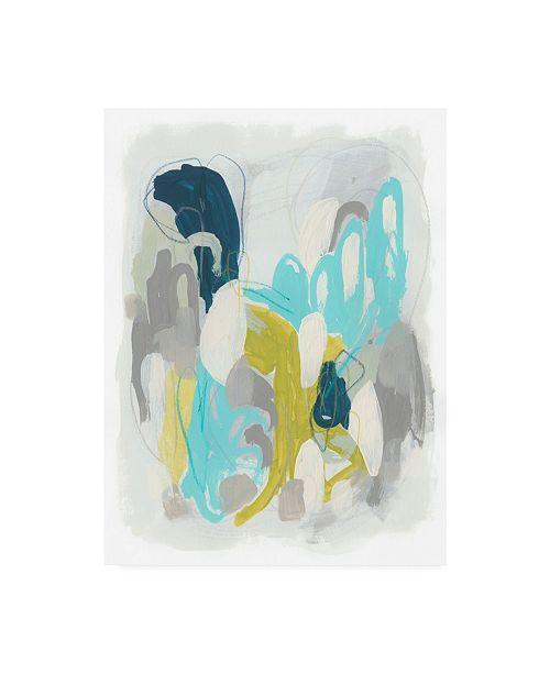 "Trademark Global June Erica Vess Arc Lights II Canvas Art - 20"" x 25"""