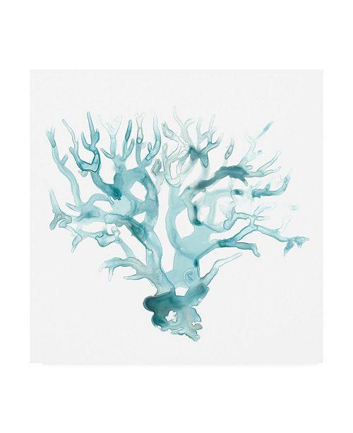 "Trademark Global June Erica Vess Ocean Cameo I Canvas Art - 27"" x 33"""
