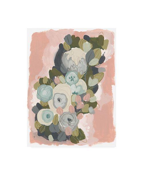 """Trademark Global June Erica Vess Blossom Cascade II Canvas Art - 37"""" x 49"""""""