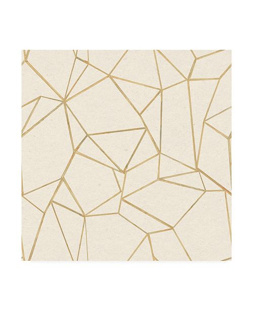 "Trademark Global Wild Apple Portfolio Succulent Pattern I Canvas Art - 15"" x 20"""