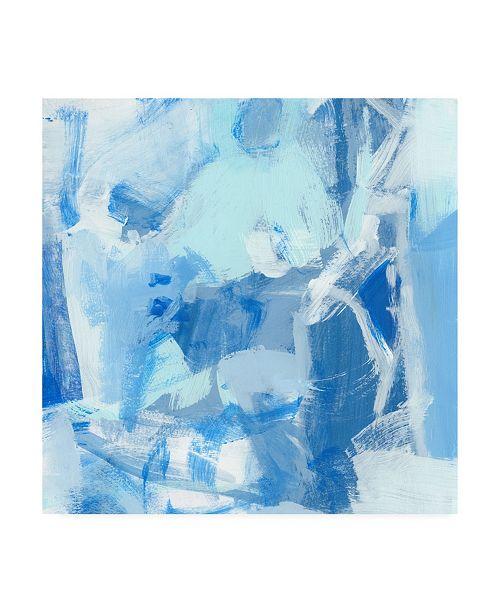 "Trademark Global Christina Long Blue Light I Canvas Art - 27"" x 33"""