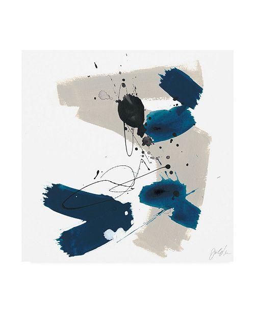 "Trademark Global June Erica Vess Kanji I Canvas Art - 27"" x 33"""