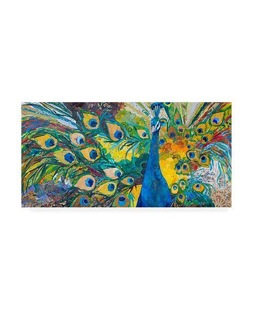 "Trademark Global Elizabeth St. Hilaire Percy Peacock I Canvas Art - 20"" x 25"""