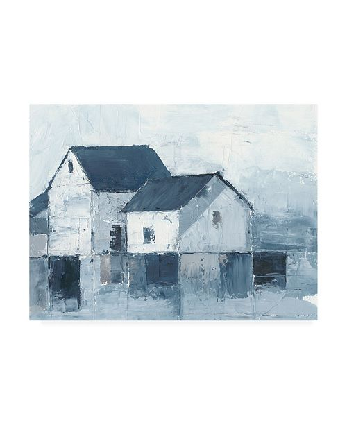 "Trademark Global Ethan Harper Indigo Barns I Canvas Art - 20"" x 25"""