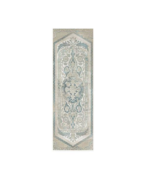 "Trademark Global June Erica Vess Vintage Persian Panel IV Canvas Art - 20"" x 25"""