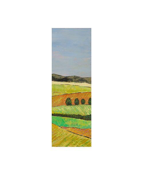 "Trademark Global Mehmet Altug Pastel Hills II Canvas Art - 20"" x 25"""