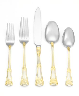 Flatware 18/10, Old Country Roses 20 Pc Set, Service for 4