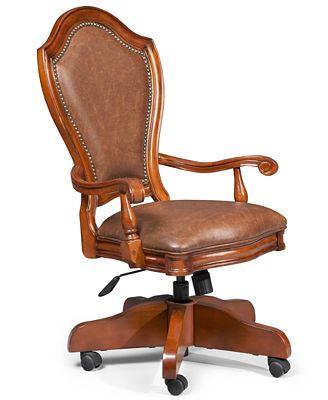 goodwin home office desk chair - furniture - macy's