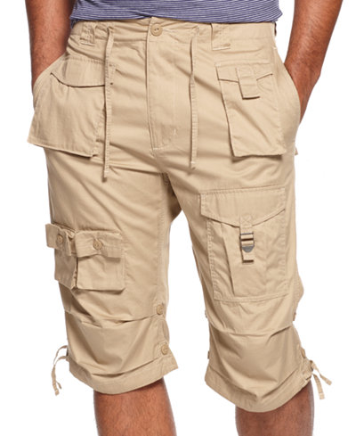 Sean John Men's Shorts Big and Tall, Classic Flight Cargo Shorts ...