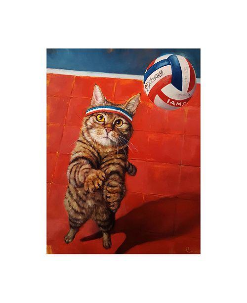 """Trademark Global Lucia Hefferna The Setter Canvas Art - 19.5"""" x 26"""""""
