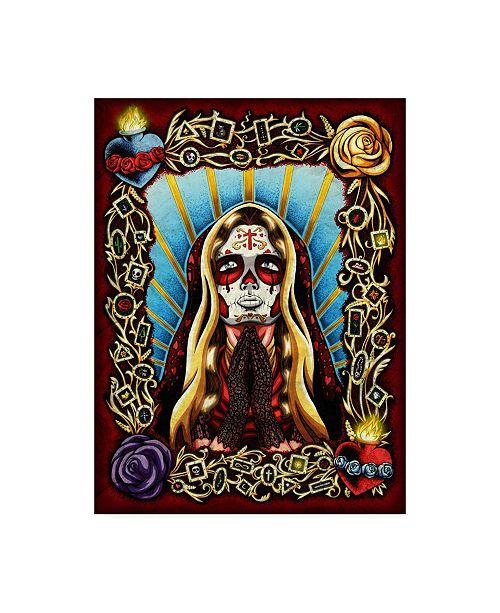 "Trademark Global Nicholas Ivin Valentina Canvas Art - 19.5"" x 26"""