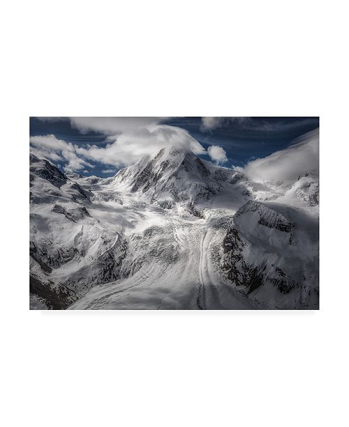"Trademark Global Clara Gamito Glacial Canvas Art - 27"" x 33.5"""