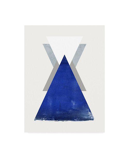 """Trademark Global Design Fabrikken Triangle 2 Fabrikken Canvas Art - 15.5"""" x 21"""""""