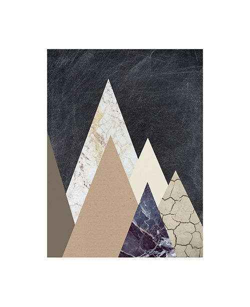 "Trademark Global Design Fabrikken Peaks 2 Fabrikken Canvas Art - 36.5"" x 48"""