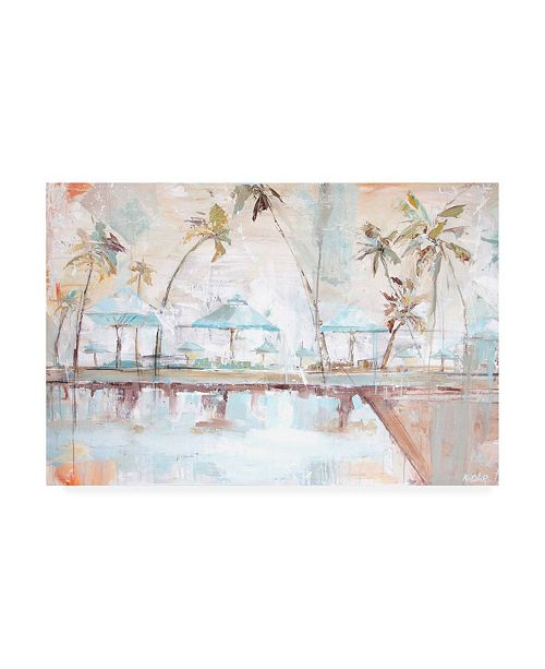 "Trademark Global Kym De Los Reyes The Kahala Canvas Art - 27"" x 33.5"""