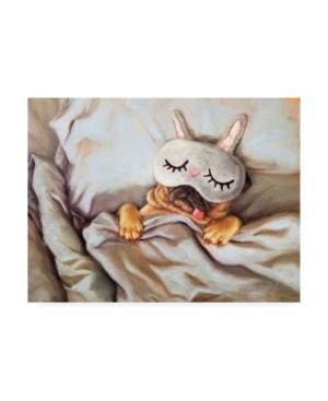 Lucia Heffernan Sleeping Beauty Face Mask Canvas Art - 15.5