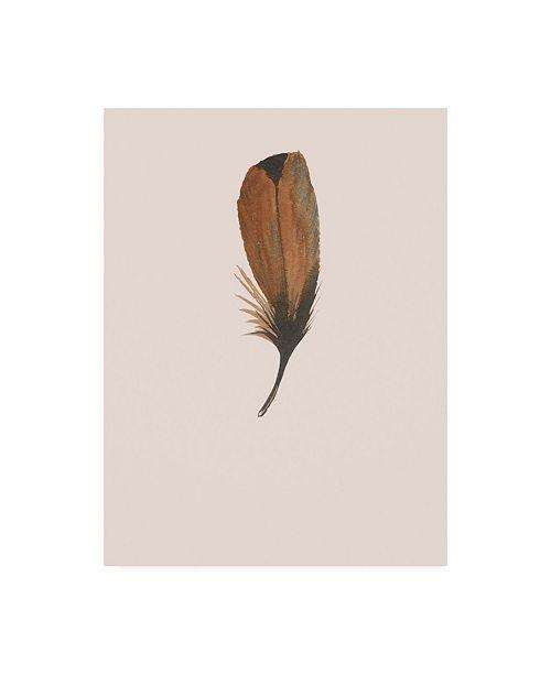 """Trademark Global Incado Feather 08 Canvas Art - 15.5"""" x 21"""""""