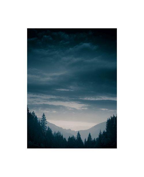 "Trademark Global PhotoINC Studio Blue Mountains IV Canvas Art - 19.5"" x 26"""