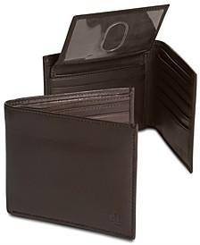Men's Lauren by Ralph Lauren Burnished Leather Bifold Wallet