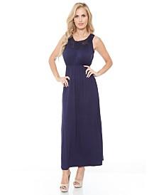 White Mark Women's Katherine Maxi Dress