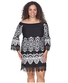White Mark Women's Plus Size Alta Dress