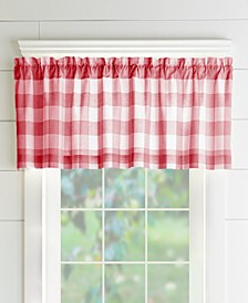 Farmhouse Living Buffalo Check Window Valance