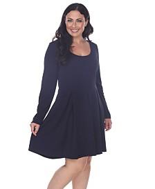 White Mark Women's Plus Size Jenara Dress